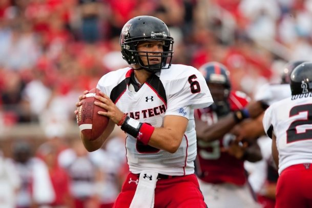 In three seasons as the full-time starter under Mike Leach at Texas Tech, quarterback Graham Harrell finished his career 28-11, guiding Texas Tech to just its third ever 11-win season in 2008 and a perfect 4-0 record against Texas A&M.