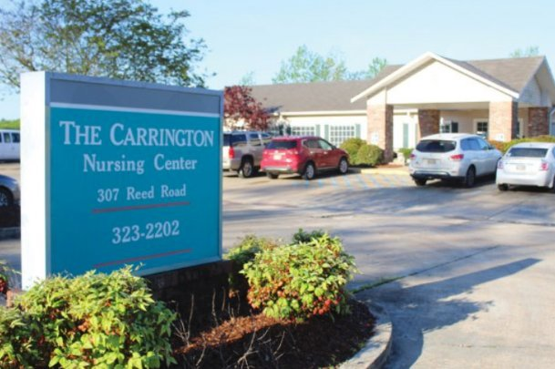 Carrington Nursing Center in Starkville, pictured in this Dispatch file photo, will still enjoy a traditional Thanksgiving meal Thursday. But a COVID-19 Thanksgiving will be different than those of years past.
