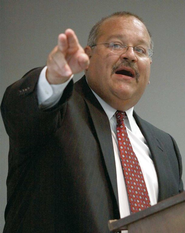Joe Max Higgins speaks at a luncheon on the Mississippi University for Women campus in this 2012 file photo.