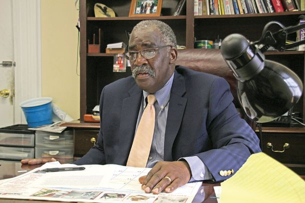 Lowndes County District 5 Supervisor Leroy Brooks spoke about a candidate garnering absentee ballots in a press conference Thursday, when he announced plans to request a Secretary of State investigation into the Ward 4 special election. Brooks said the practice is