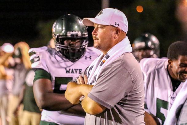 West Point High School head football coach Chris Chambless will lead his squad against Starkville Friday.