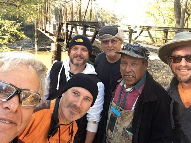 A group of local paddlers pose for a selfie after a fall trip in the old Tombigbee channel north of Amory. From left: Birney Imes, Ross Whitwam, Matt Alexander, Dudley Bearden, H.D. Taylor and Chris Weathers.