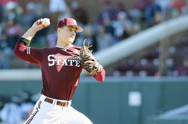 Mississippi State sophomore JT Ginn made only one start this season: Feb. 14 against Wright State. Still, Ginn was drafted in the second round Thursday by the New York Mets at No. 52 overall after undergoing season-ending elbow surgery in March.