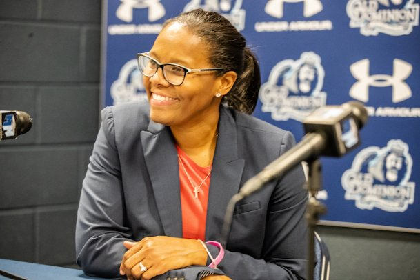 Nikki McCray-Penson was introduced as MSU's new coach in a press conference Tuesday.
