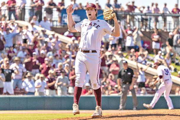 Cole Gordon has sliced his earned run average up from 5.79 on April 28 against Georgia to 3.96 following MSU's victory against Miami on Sunday.