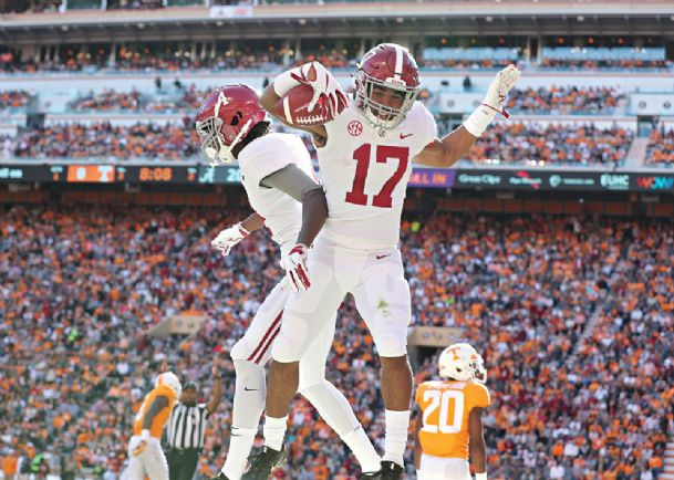 Fast Start Pushes No 1 Alabama Past Tennessee The Dispatch