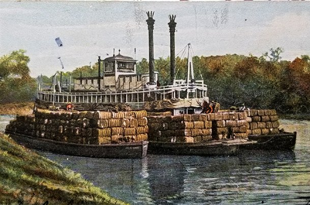 """""""Scarcely in memory of the oldest citizen of the county has there occasioned such a spring – No river for Steamboats during winter or spring.� — John Billups, April 1855"""