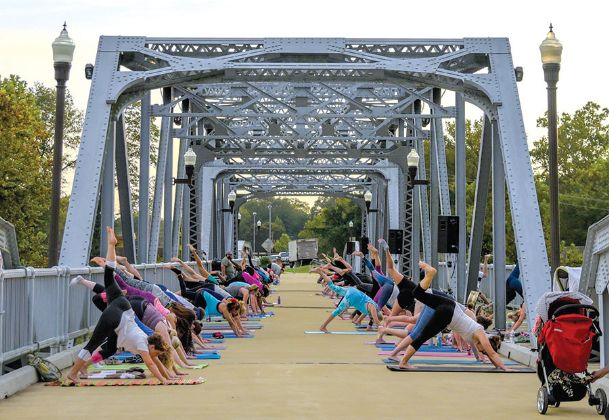 The W's fifth annual Barefoot on the Bridge event will begin at 6 p.m. Tuesday at the Columbus Riverwalk. Participation is free and open to the community.