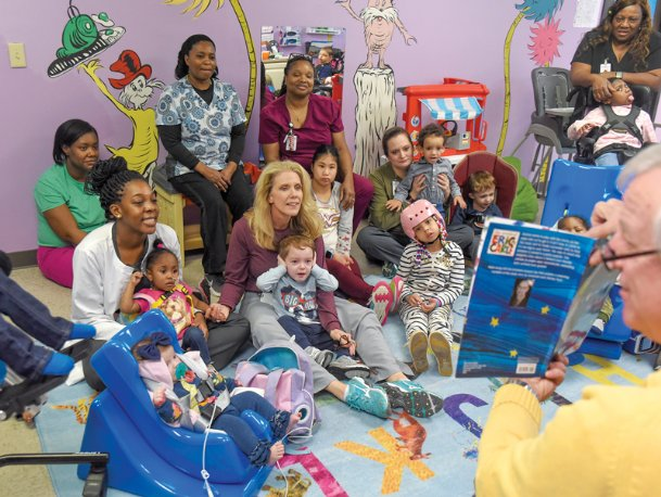 During the month of February, PediaTrust, a daycare for medically fragile children, is inviting community members to participate in a reading program designed to expose area residents to the center's unique mission and build a base of volunteers.