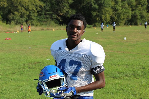 Disillusioned with football, Noxubee County sophomore wide receiver AJ Fowler walked away from football at the end of last year's junior varsity season. But Fowler came back to the Tigers this year and plays a big role at wideout.