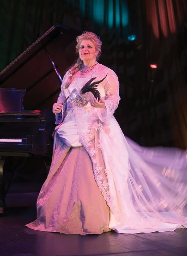Mezzo-soprano Janet Hopkins will perform at 7:30 p.m. Monday at Mississippi University for Women's Poindexter Hall.