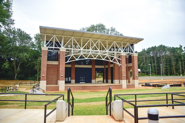 Columbus City Council voted to advertise for bids to begin the second phase of construction on the Sen. Terry Brown Amphitheater in downtown Columbus at Tuesday's meeting. The amphitheater currently has a stage, but still needs seats, gates and food/beverage and administrative facilities, an estimated $2.5 million endeavor.