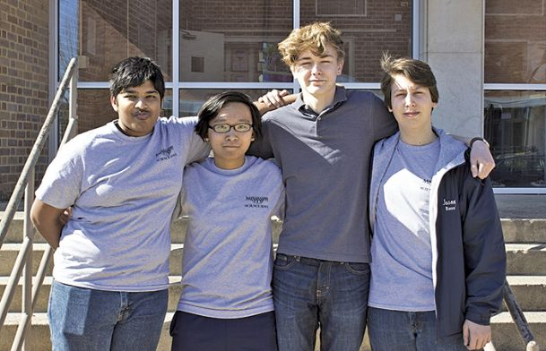 Mississippi School for Mathematics and Science students Dauttatreyo (Wrishi) Bandyopadhyay of Starkville; Nathan Barlow, of Starkville; Jason Necaise of Ridgeland; and Meilun Zhou of Oak Grove have been selected as candidates for the U.S. Presidential Scholar Award.
