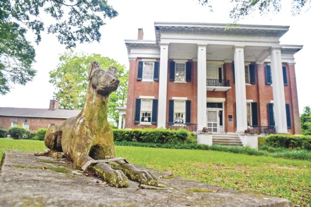 Dick Leike, a local Realtor, is buying Riverview, a historic antebellum home on Columbus' Southside built in the 1850s. The home has been vacant for two decades. Leike said he has not yet finalized any specific plans for the mansion but preservation is a priority.