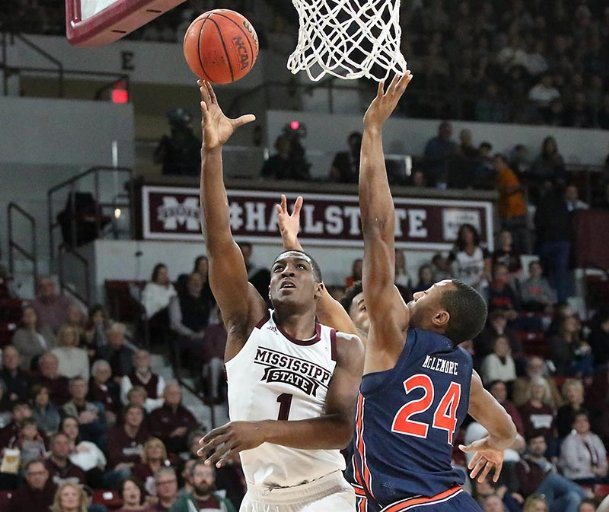 No. 8 Auburn, Miss. St. start SEC play