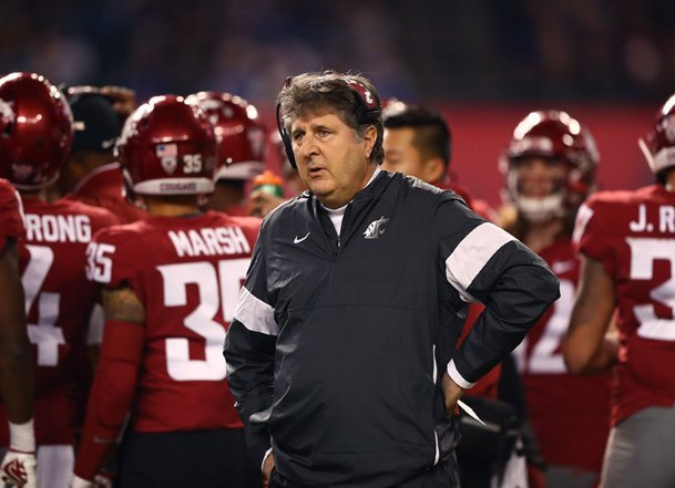 As outspoken as coaches come, Washington State coach Mike Leach has earned a reputation for his brashness -- something that could bode well for a blue-collar program like MSU.