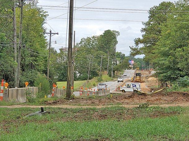 Construction along Blackjack Road started this year after Oktibbeha County obtained the necessary easements after much delay. A Friday vote from the board of supervisors accepted $500,000 in bond money from the state to complete the project, and the board can reallocate county money it previously set aside for it, District 2 Supervisor Orlando Trainer said.