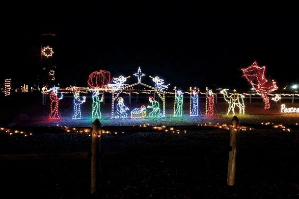 Fayette County Park Christmas Lights 2020 Worth the drive: Fayette's 'Christmas at the Park' returns as