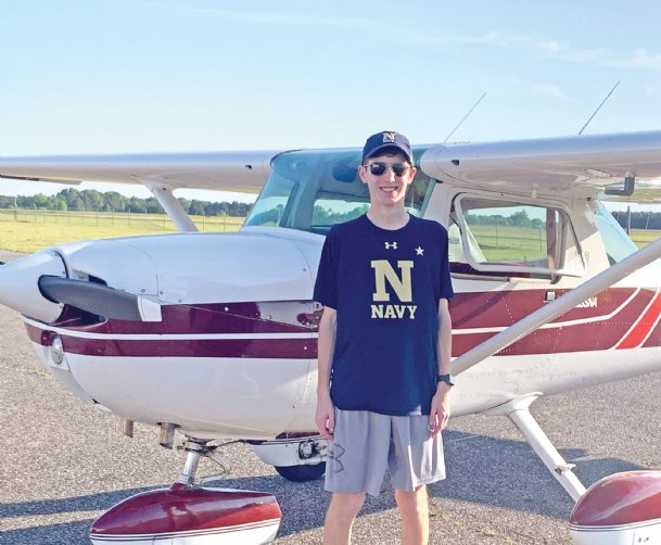 Starkville native Tyler Highfield received a $10,000 scholarship from the Aircraft Owners and Pilots Association last week. The money will be put toward training en route to earning Tyler's private pilot certificate when he turns 17.