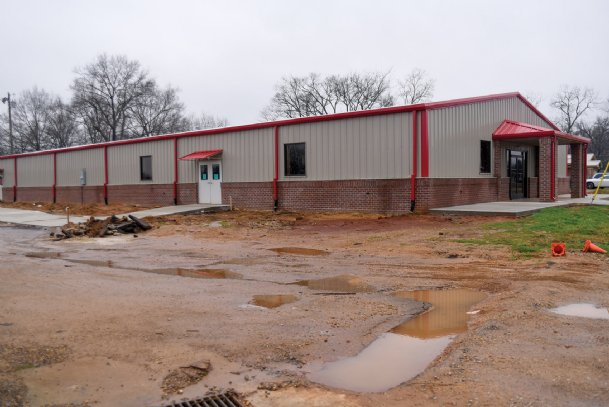 The new Sim Scott Community Center is nearing completion. The 9,000 square foot building will include a senior citizen center. The old community center and senior citizen center were housed in different buildings. Both were destroyed by the Feb. 23, 2019 tornado.