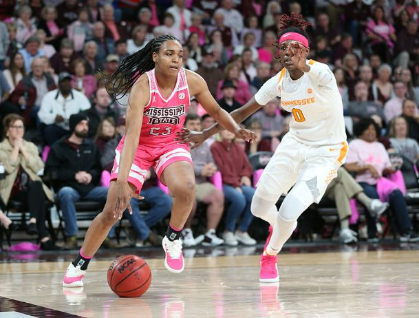 Bre'Amber Scott has helped lead the Mississippi State women's basketball team to No. 5 in the latest AP Top 25.