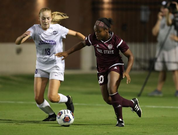 Monigo Karnley will help lead the undefeated Mississippi State soccer team against Louisiana Tech today.