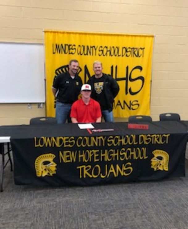New Hope's Rye McGlothin is taking his home run swing to East Mississippi Community College.