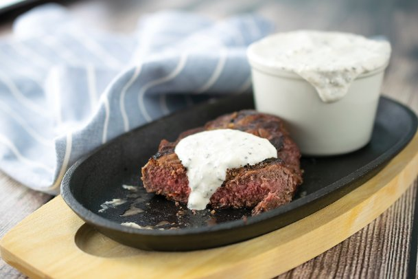Planning on steaks this Memorial Day weekend? Try out this horseradish and chive sauce.