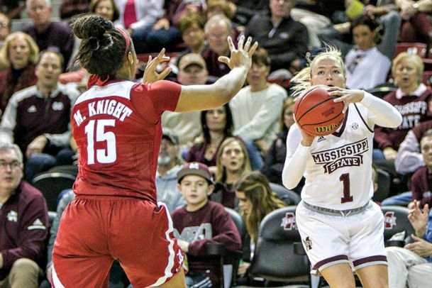 Former Mississippi State women's basketball player Blair Schaefer has been named the coordinator for basketball player development with the team. She joins the staff under the direction of her father, head women's basketball coach Vic Schaefer.
