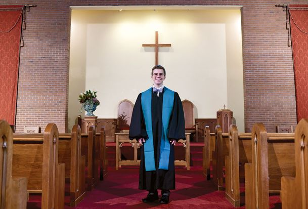 In August, Rev. B.J. Chain joined First Presbyterian Church as its new pastor. Chain also works in the U.S. Army Reserves as a chaplain.