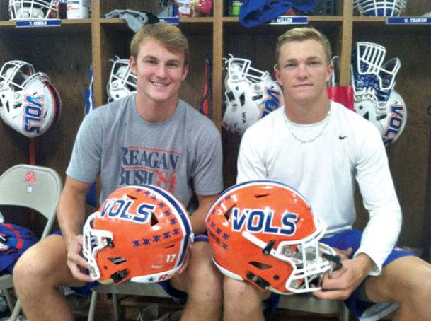 Starkville Academy's Howell Archer and Will Miller