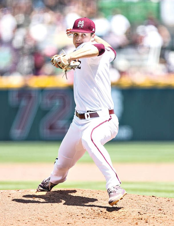 Mississippi State baseball pitcher JT Ginn has been National Freshman of the Year by the Perfect Game publication. Ginn will take an 8-4 season record into the College World Series in Omaha, Nebraska, which starts this weekend.