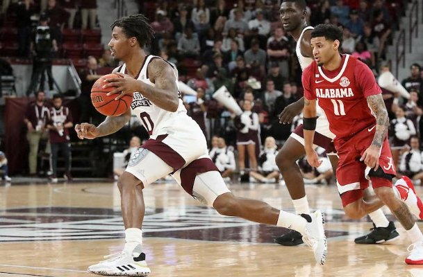 Guard Nick Weatherspoon might have to be the focal point of the Bulldogs' offense next season. Whether he'll do it at point guard or shooting guard is still unknown.