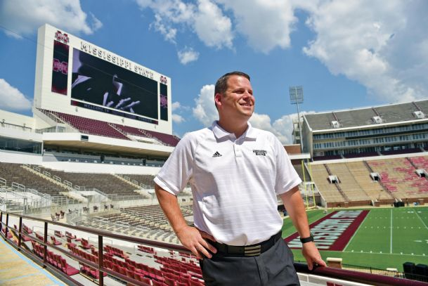 Scott Wetherbee, Mississippi State's assistant athletic director for external affairs, says the massive video boards at Davis Wade Stadium not only enhance the game-day experience for fans but serve as a much-needed source of revenue.