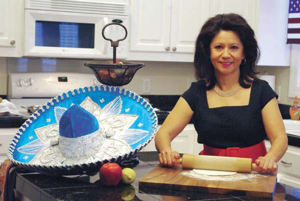 Patricia Wilson prepares tortillas in her North Columbus home. Today, she shares family recipes for a Cinco de Mayo dinner. Wilson is an avid cook, who took culinary classes in Europe and attends Viking Cooking School classes in the Delta, and elsewhere, as often as she can.