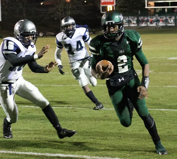West Point High School's Marcus Murphy threw for 770 yards and nine touchdowns and rushed for 1,615 yards and 16 touchdowns last season.