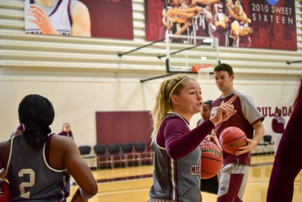 Mississippi State junior Blair Schaefer (1) will try to help lead the women's basketball team to a third straight NCAA tournament berth.
