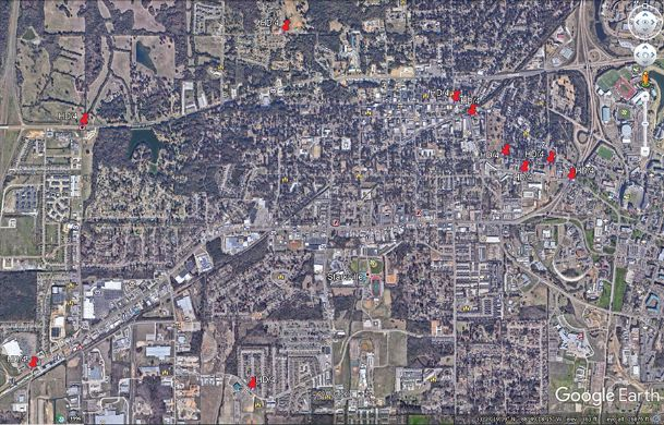 The city of Starkville is preparing to deploy 10 new cameras in an upgrade to its camera system. Most will be deployed in the Cotton District/Russell Street corridors, with others planned to go near major intersections or at parks.