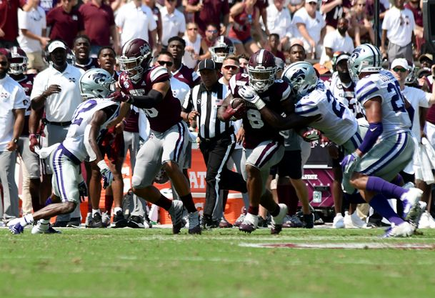 Kylin Hill has been one of the better running backs in the SEC, but behind the oft-injured back, Mississippi State has lacked depth at the position so far this season.