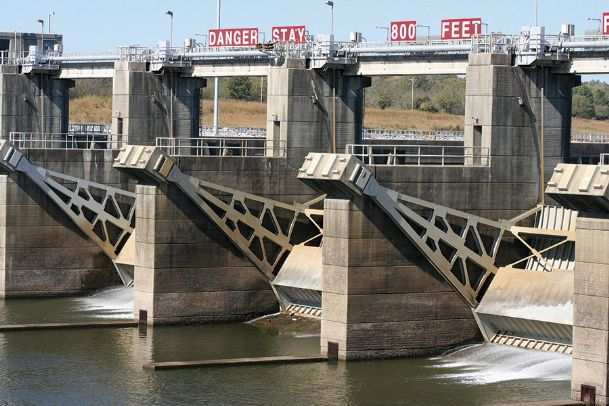 The John C. Stennis Lock and Dam, along with the Aberdeen Lock and Dam, are potential sites for hydroelectric power plants proposed by Georgia civil engineer Jeremy Wells. Wells has filed an application with the Federal Energy Regulatory Commission for a permit to perform a feasibility study at the two locations.