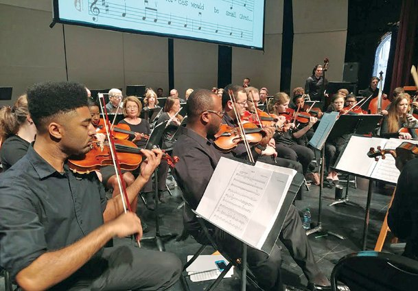 A free 7:30 p.m. concert Friday by the Starkville/MSU Symphony Association at Mississippi State's Lee Hall follows three daytime concerts for children.