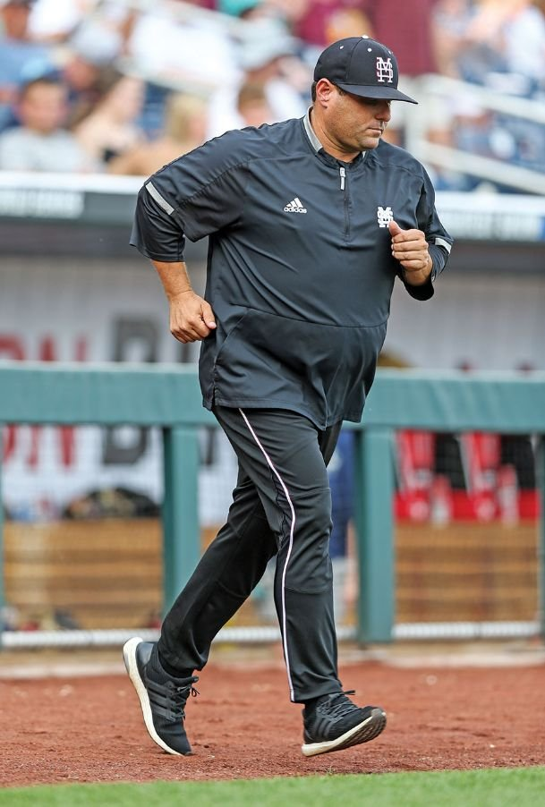 Mississippi State head baseball coach Chris Lemonis led the Bulldogs to the 2019 College World Series in his first year on the job.