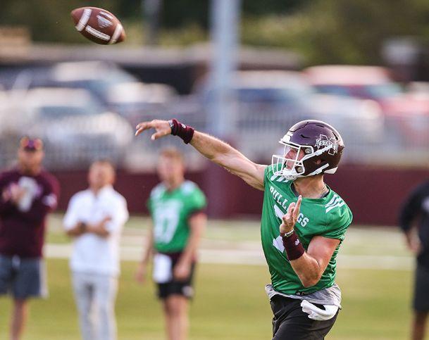 Mississippi State quarterback Tommy Stevens has been named the team's starter for the season opener on Aug. 31.