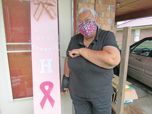 Josetta Jefferson, who has had breast cancer three times over 42 years, says the key to survival is faith in God and a determination to go on with life.