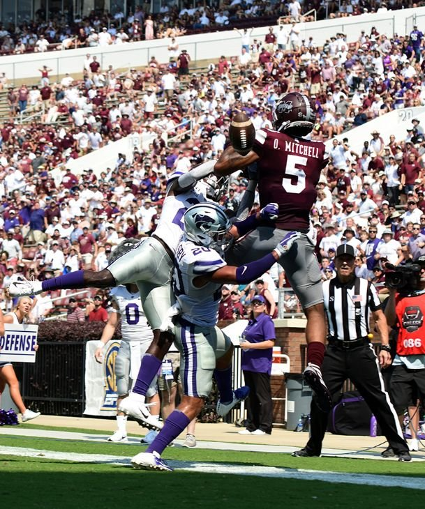 Mississippi State receiver Osirus Mitchell concludes his time in Starkville with 107 receptions for 1,413 yards and 14 touchdowns in parts of four seasons.