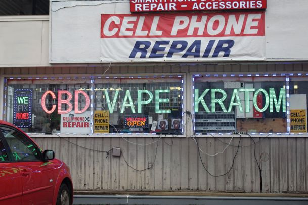 A Chevron gas station off Highway 45 in Columbus has a street-facing flashing sign advertising the sale of Kratom. A citizen-formed task force asked Lowndes County supervisors to pass an ordinance making the sale of Kratom a misdemeanor.
