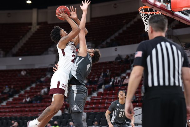 After sitting on the bench the majority of his freshman year, Mississippi State's Derek Fountain has cracked the Bulldogs' rotation. He had a career-high 20 points on Feb. 10 against LSU.
