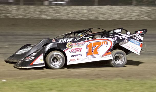 Dirt Late Model Hall of Famer Dale McDowell won the 70-lap Super Late Model feature at the Cotton Pickin' 100 Saturday at Magnolia Motor Speedway in Columbus.