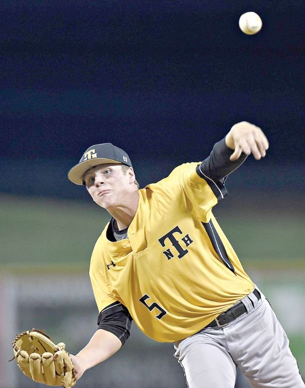 New Hope ace left-hander Ryan Burt is one of 11 local players on the Hill County Generals' roster. Burt and teammates Presley Hall and Stallone Shelton will represent the Trojans this summer.