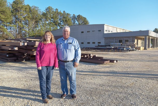 Judy and George East, owners of East Systems Inc. on Highway 69 in East Columbus, are eager for work to begin on an 11,500 square-foot expansion. The Easts received 10 percent of the cost of the $898,000 expansion from a grant from the Mississippi Development Authority. The Easts said the Golden Triangle Development LINK was essential in helping them navigate the grant process.